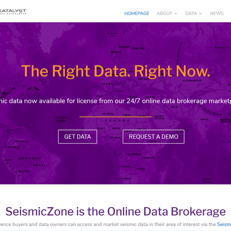 SeismicZone.com Gets a New Look for Seismic Data E-Brokerage