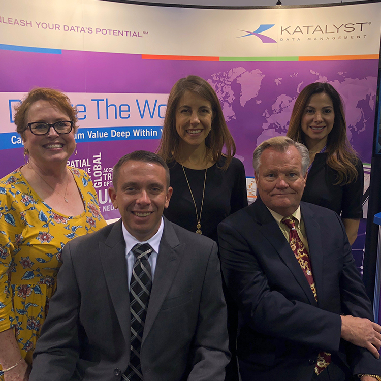 Katalyst Data Management to Digitize the World at SEG 2018
