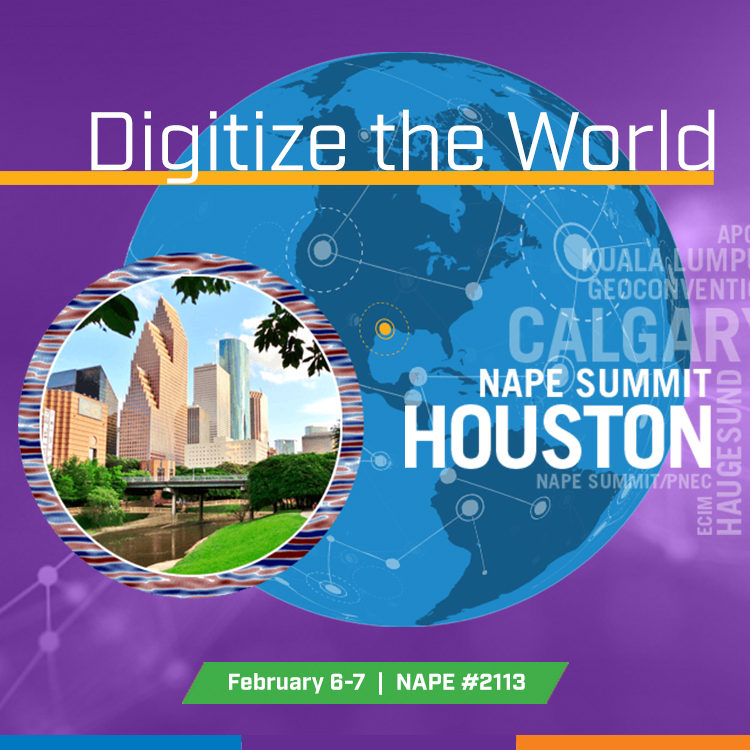 SeismicZone at NAPE Summit in Houston on February 6-7, 2020